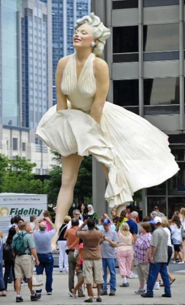 Heisa in Palm Springs om pikant standbeeld van Marilyn Monroe