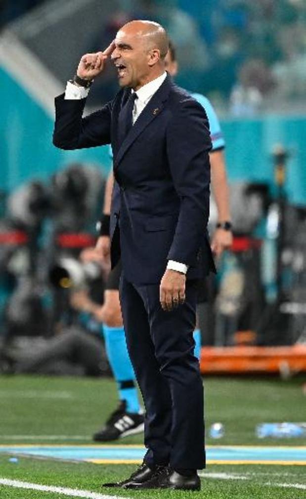 """Euro 2020 - Martinez : """"Beaucoup de tristesse dans le groupe avant le match"""""""