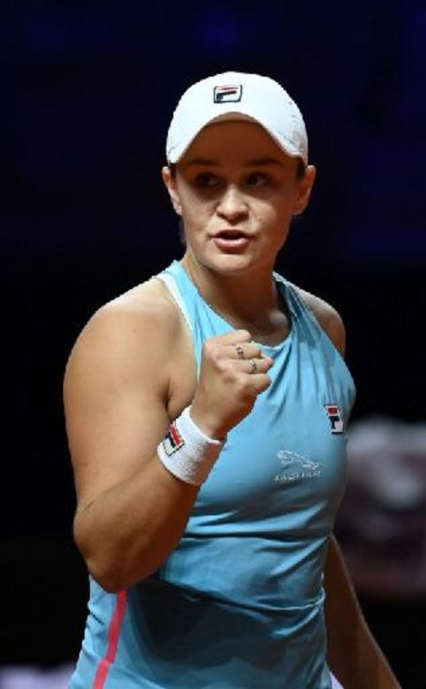 Barty stoot door, Svitolina sneuvelt