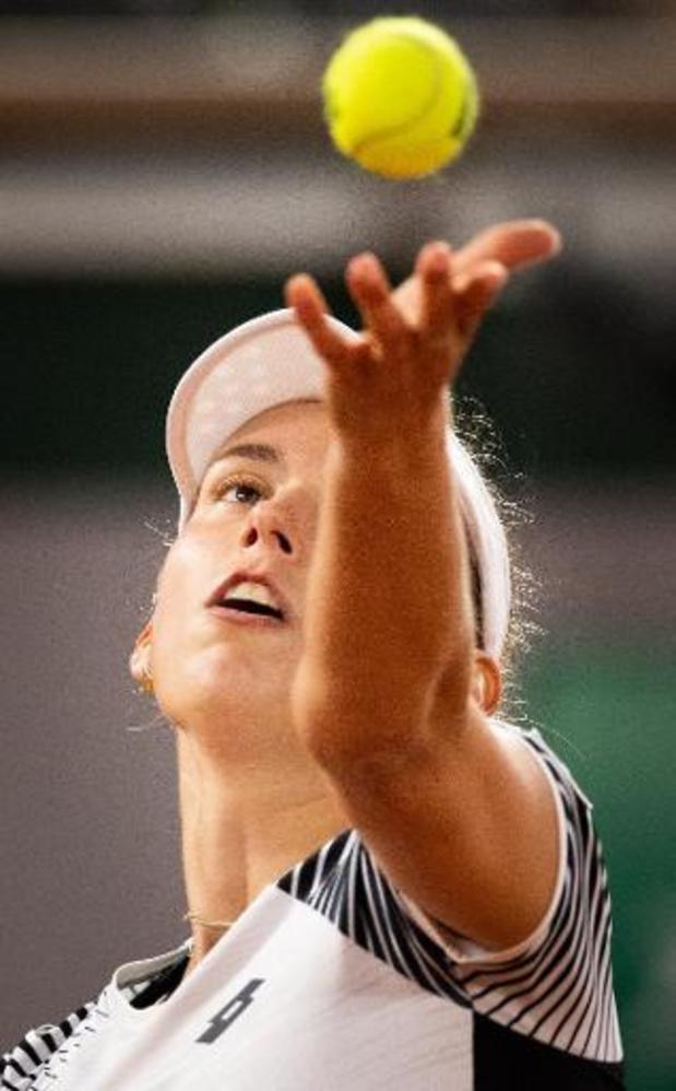 "WTA Ostrava - Mertens, en quart de finale après avoir battu Muchova : ""Une performance très solide"""
