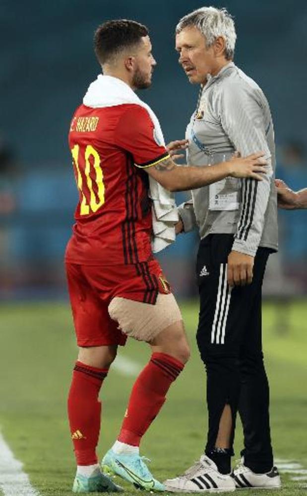Inquiétudes pour Eden Hazard et Kevin De Bruyne
