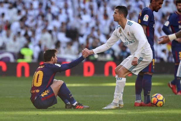 """Ronaldo """"l'indestructible"""", et Messi """"Monsieur grands moments"""" à l'oeuvre ce soir"""