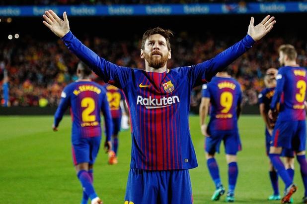 Le plus beau but de l'histoire du Barça pour Messi (vidéo)