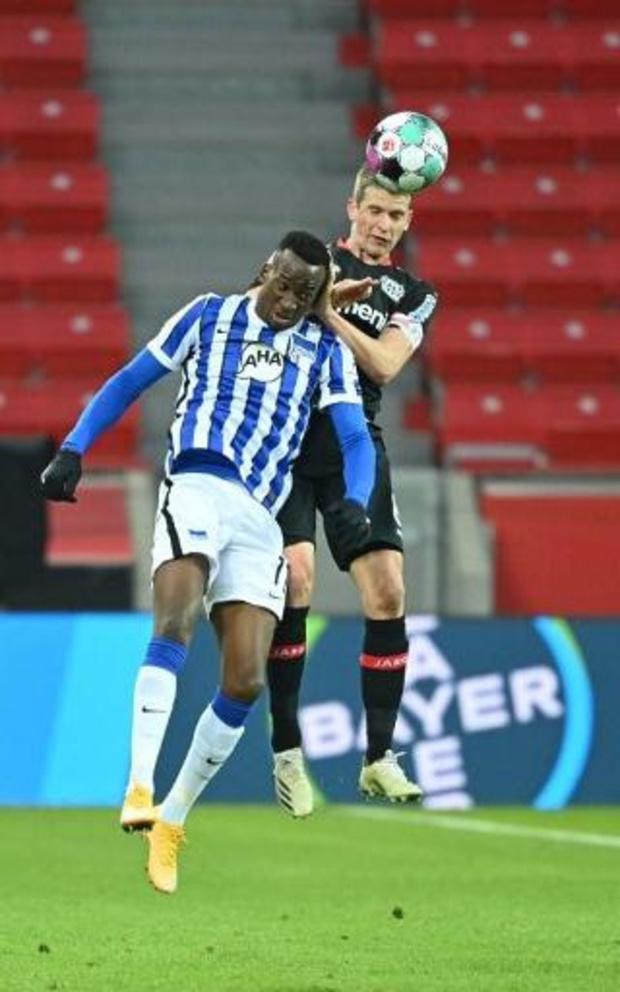 Les Belges à l'étranger - Le Hertha Berlin, avec Boyata et Lukebakio, prend un point à Leverkusen