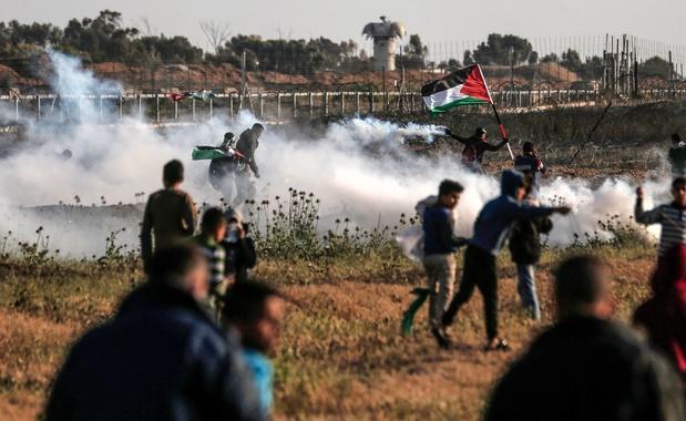 Frappes israéliennes, après des tirs palestiniens