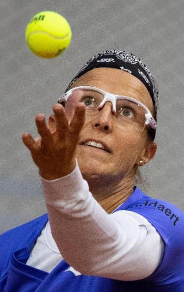 WTA Abou Dhabi - Kirsten Flipkens, qui souffre d'une déchirure du ligament, n'a pas renoncé à Melbourne