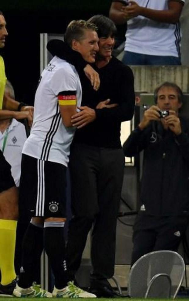 Bastian Schweinsteiger toujours le bienvenu dans le staff de la Maanschaft