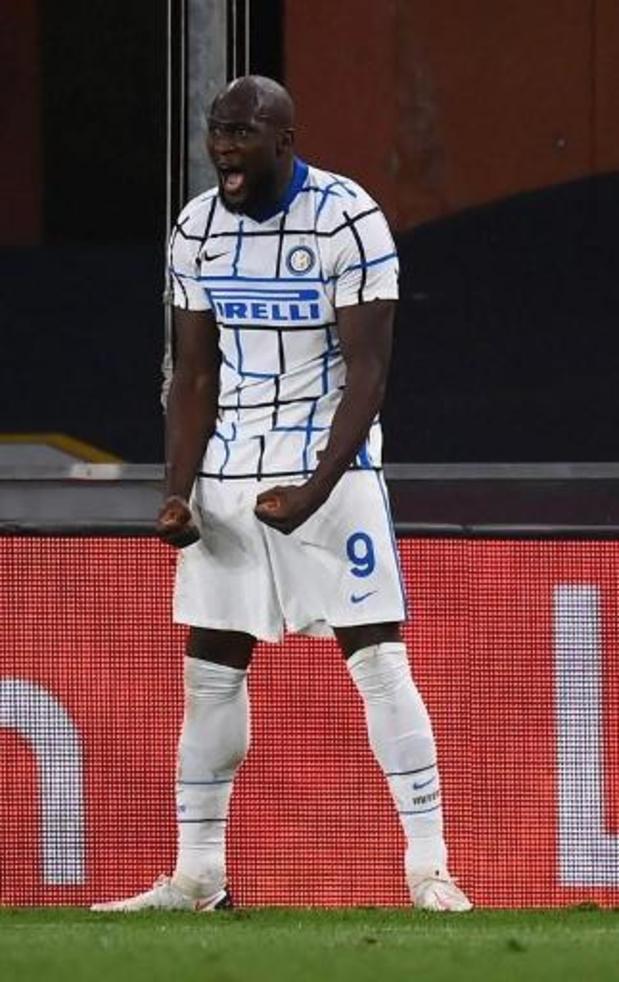 Les Belges à l'étranger - L'Inter Milan s'impose sur le terrain du Genoa avec un but de Romelu Lukaku