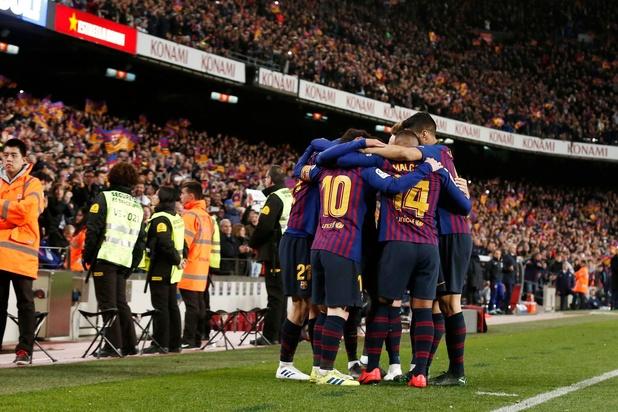 La Champions League, objectif principal de Barcelone