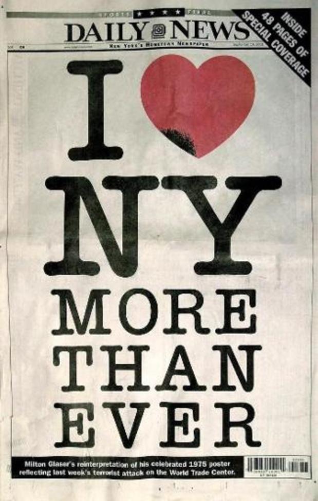 """Décès du concepteur du logo """"I love NY"""""""