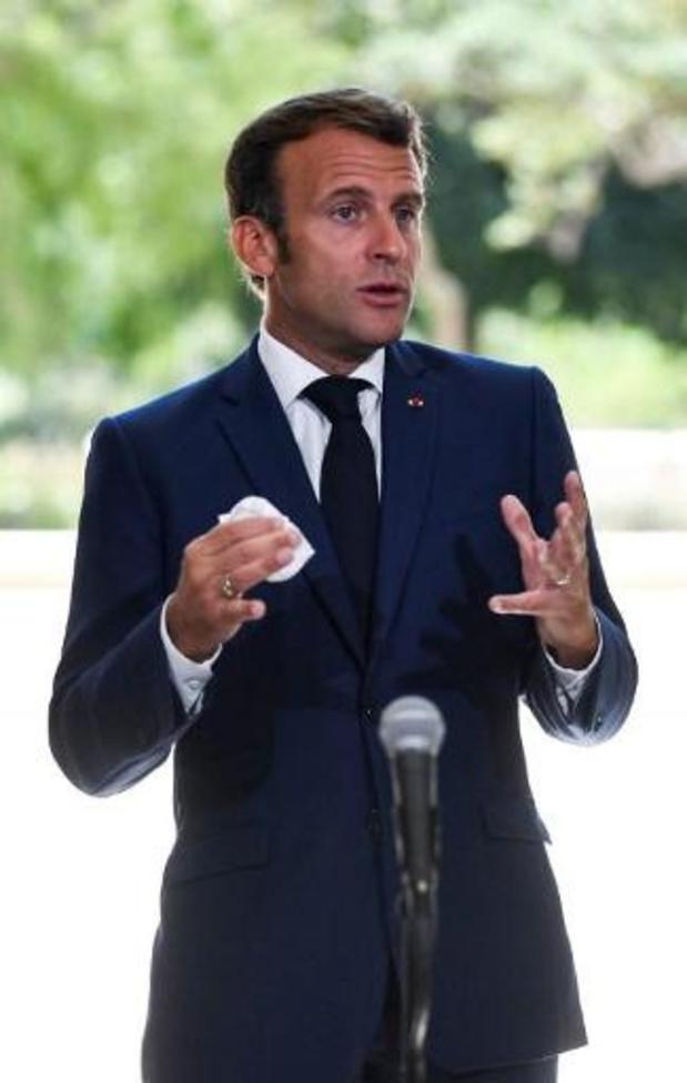 Frankrijk stuurt vliegtuigen met noodhulp naar Libanon