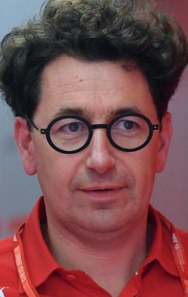 Binotto, directeur sportif de Ferrari, défend la fin de la collaboration avec Vettel