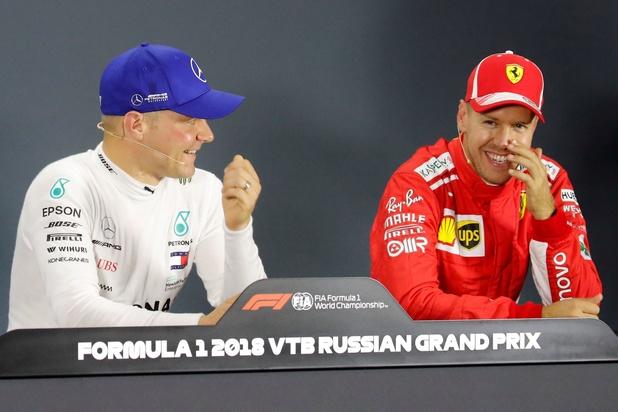 Vettel le plus rapide en EL1, Bottas en EL2