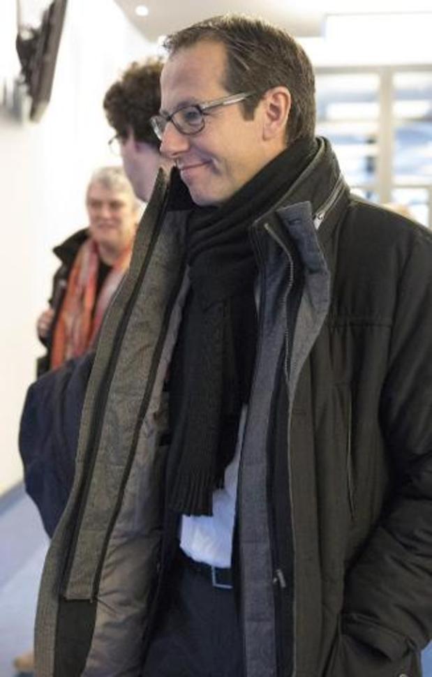 Le bourgmestre d'Amay Jean-Michel Javaux en observation