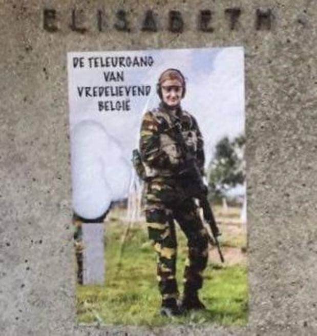 Stoeten Ostendenare keurt militaire opleiding van prinses Elisabeth af