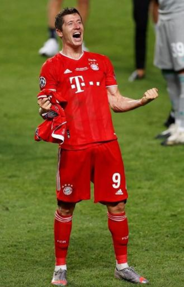 Ligue des champions - Lewandowski termine meilleur buteur de la C1