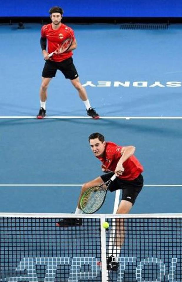 ATP Cup: La Belgique bat la Bulgarie et peut encore rêver des quarts de finale
