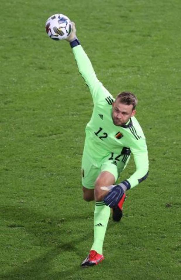 Simon Mignolet ontbreekt tegen Denemarken