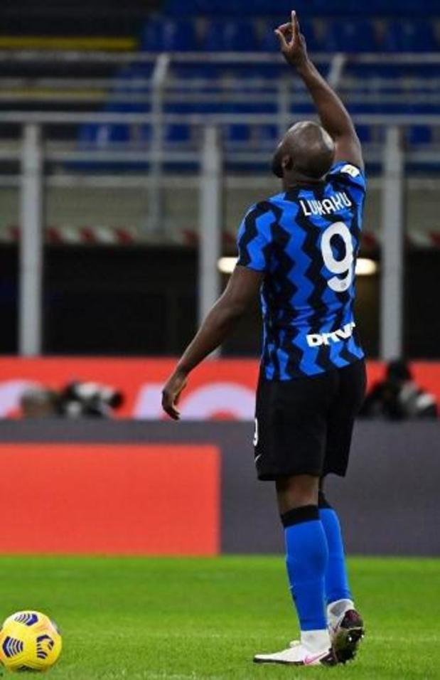 Les Belges à l'étranger - L'Inter en demi-finale de la Coupe avec un but de Lukaku
