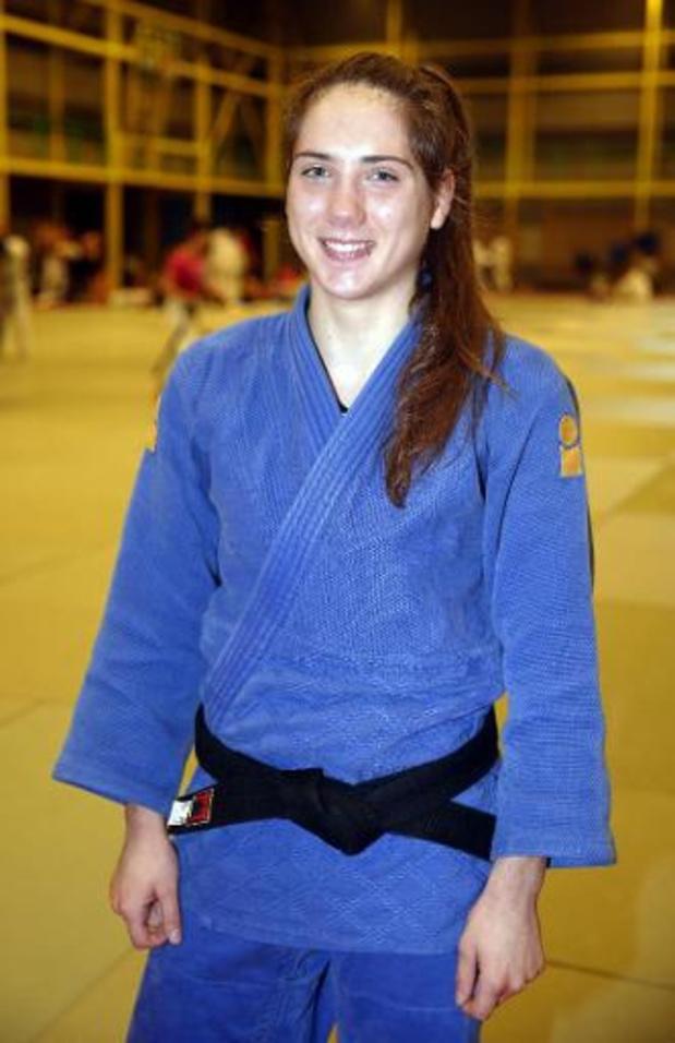 European Open de judo - Amber Ryheul médaille de bronze à Bratislava