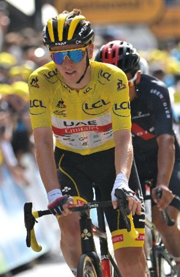 """Tour de France - """"Malheureusement pour mes rivaux, je me sentais bien"""", confie Tadej Pogacar"""