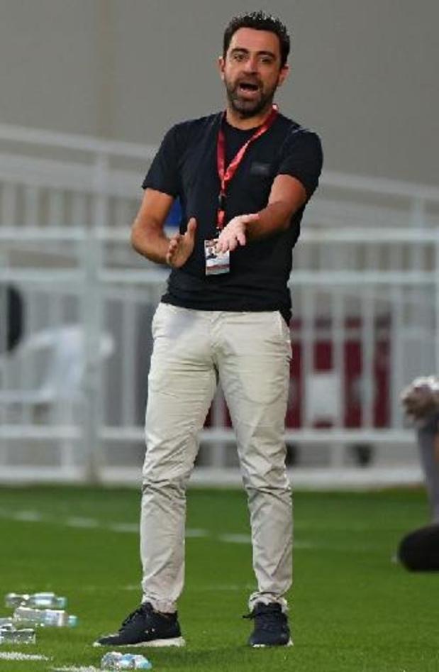 Xavi prolonge à la tête d'Al-Sadd et éloigne un retour à Barcelone