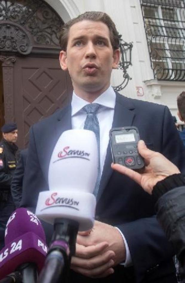Parlementaire commissie moet beschuldigingen aan adres van Kurz onderzoeken