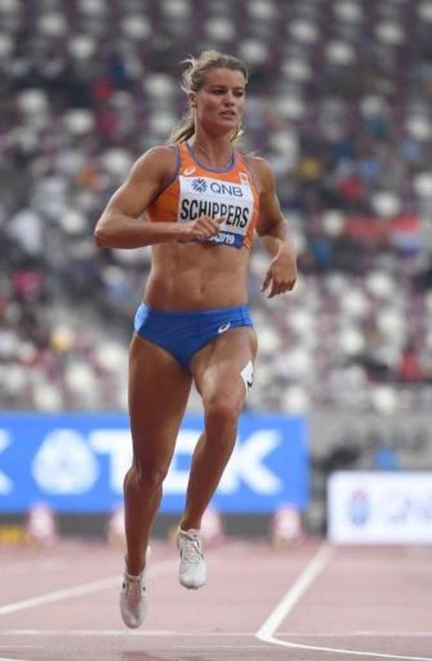 Dafne Schippers ne défendra pas son titre sur 200m, Ta Lou forfait aussi