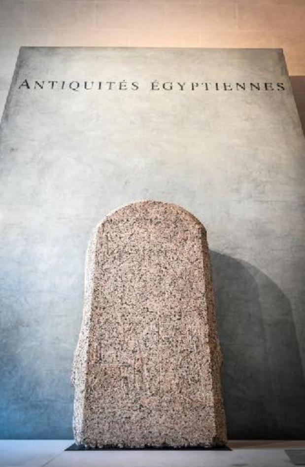 Au Louvre, la restauration d'une chapelle funéraire de l'Egypte ancienne