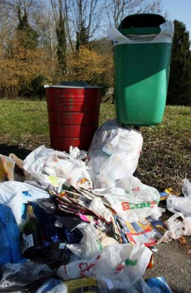 Quatre mille tonnes de déchets ramassées sur le réseau autoroutier wallon en 2019