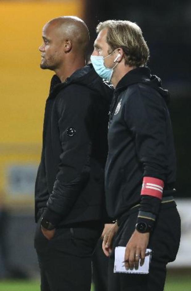 Jonas De Roeck, le T2 d'Anderlecht, ne restera pas