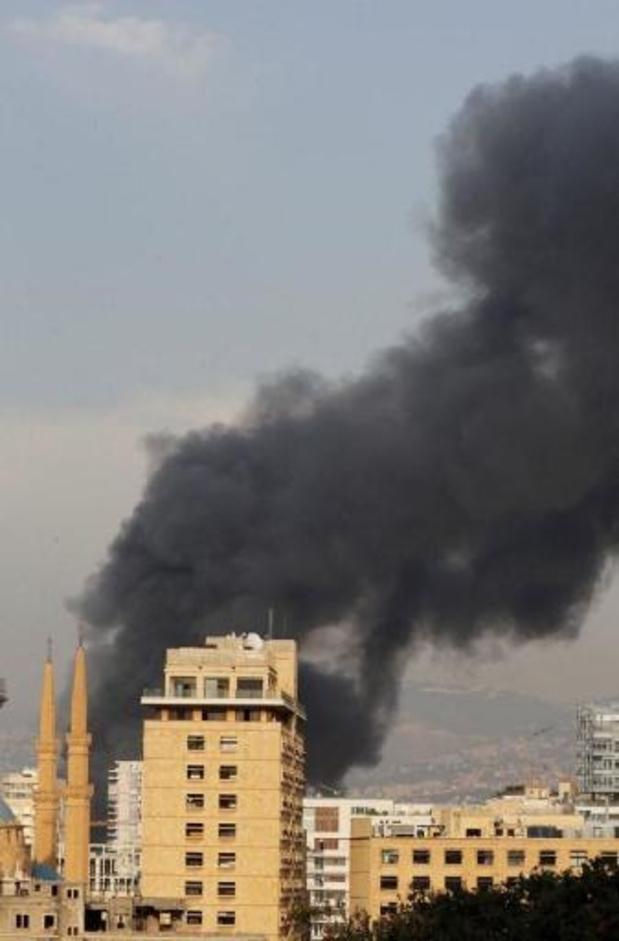 """""""Sabotage"""" of ongeluk mogelijke oorzaak van brand in haven Beiroet"""