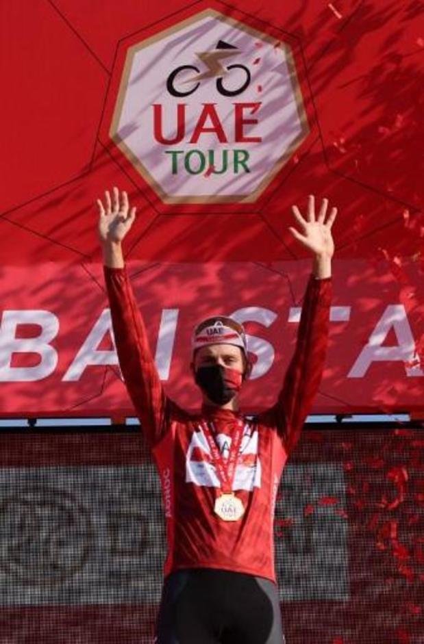 Le Slovène Tadej Pogacar remporte le classement final, la dernière étape pour Caleb Ewan