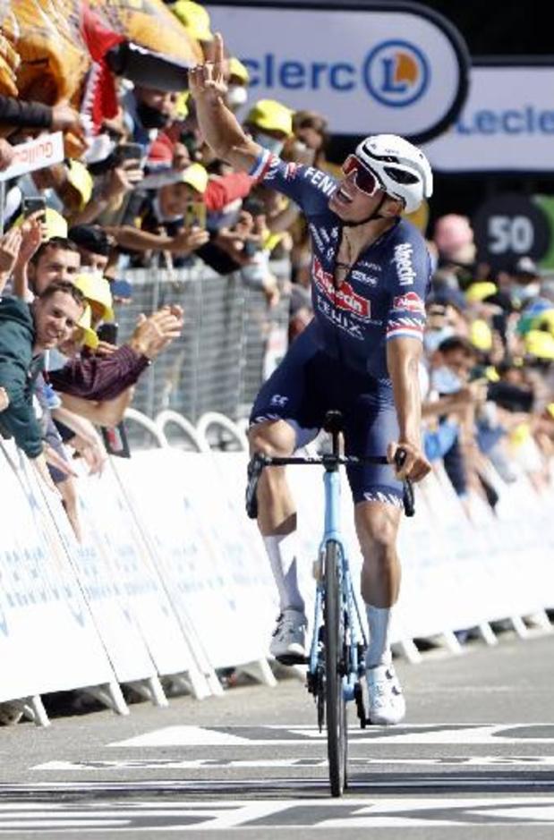 Mathieu van der Poel slaat dubbelslag in Tour de France