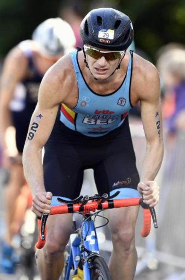 Christophe De Keyser et Jolien Vermeylen champions de Belgique de triathlon sprint