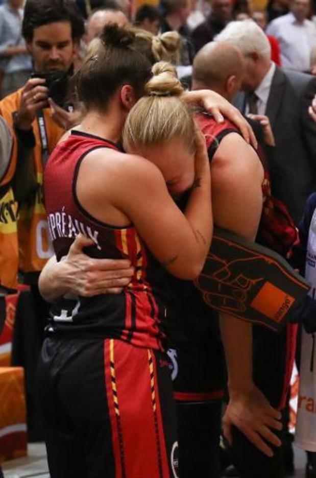 """OKT basket (v) - Ann Wauters krijgt haar """"laatste dans"""""""
