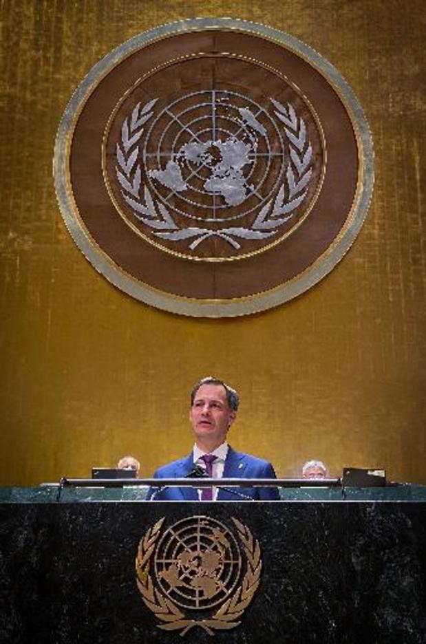 Algemene Vergadering VN - Met verwijzing naar overstromingen roept De Croo op nu in actie te schieten voor klimaat