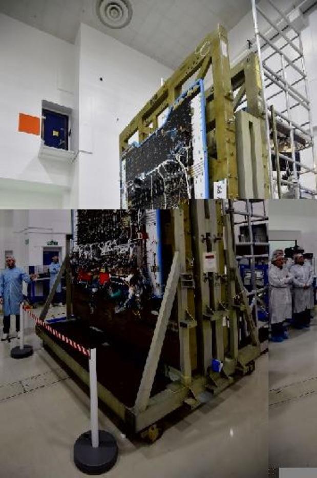 Lancering baanbrekende Europese satelliet Quantum nakend