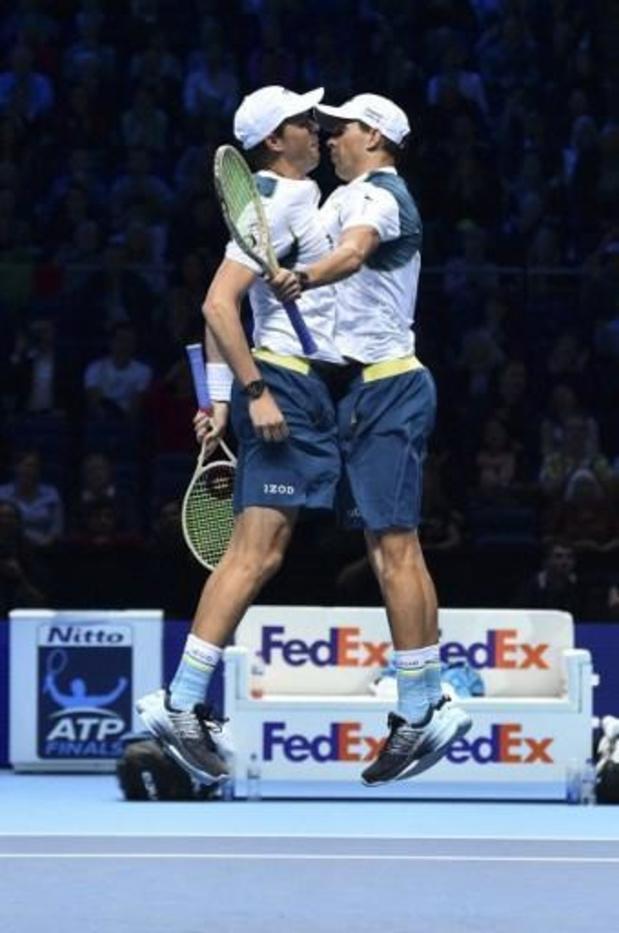 Les frères Bryan rangeront leurs raquettes après l'US Open