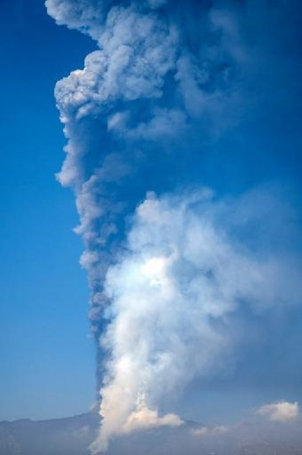 Sicile: l'Etna de nouveau en éruption