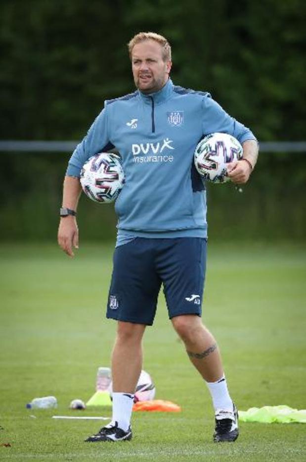 Aaron Danks, adjoint de Kompany, quitte Anderlecht pour Aston Villa