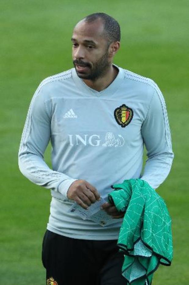 Diables Rouges - Thierry Henry de retour dans le staff des Diables Rouges pour l'Euro