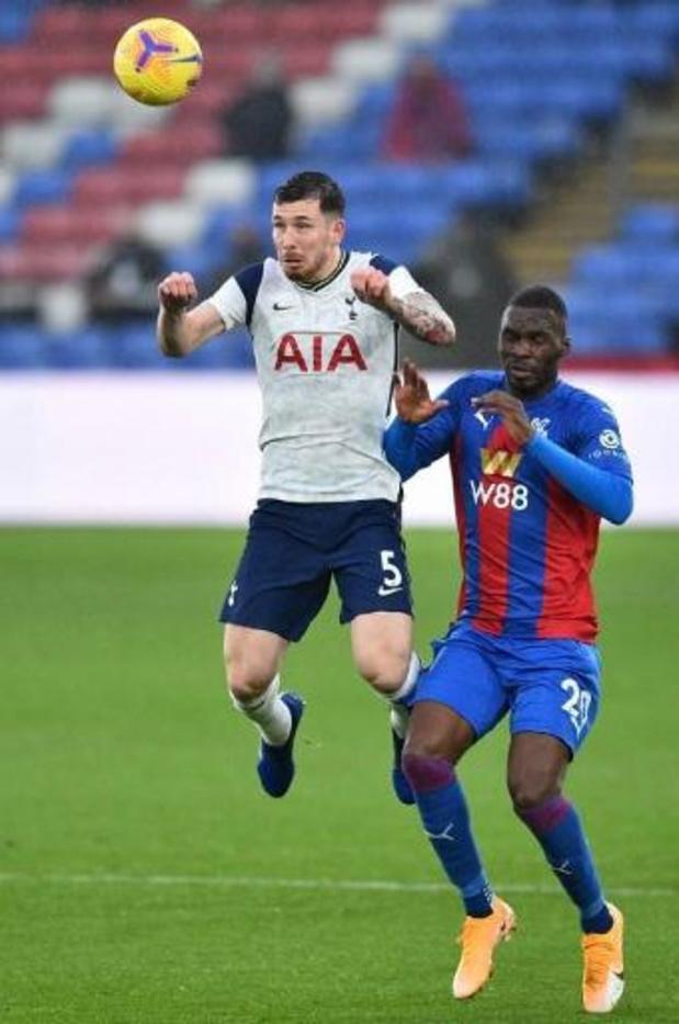 Benteke (Crystal Palace) en Alderweireld (Tottenham) delen punten in Londense derby