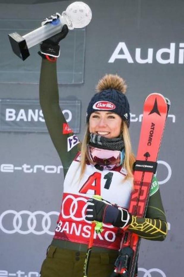 Ski alpin : Mikaela Shiffrin sera bel et bien au départ à Åre