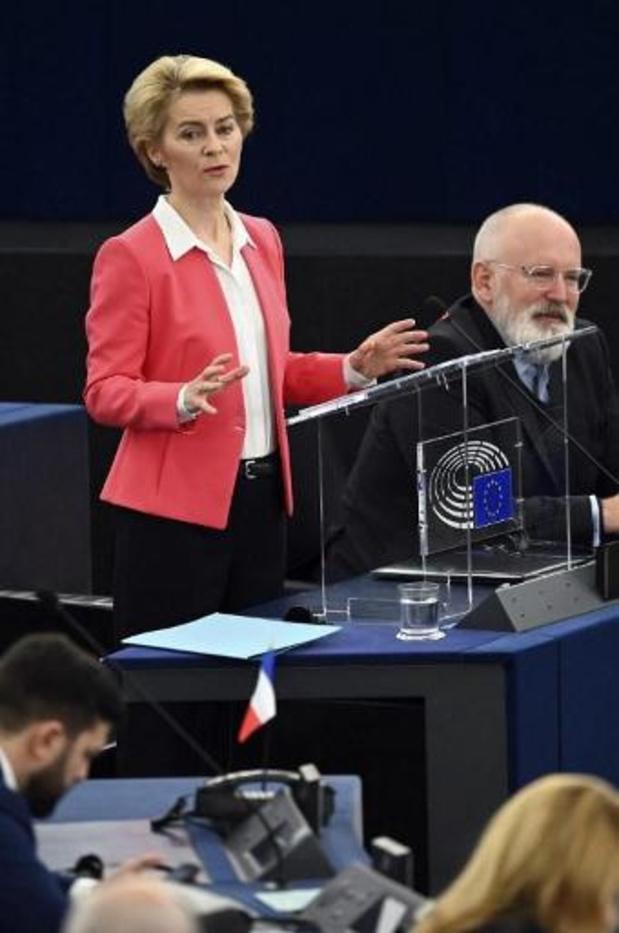 """Ursula Von der Leyen: """"Je demande votre soutien pour un nouveau départ de l'Europe"""""""