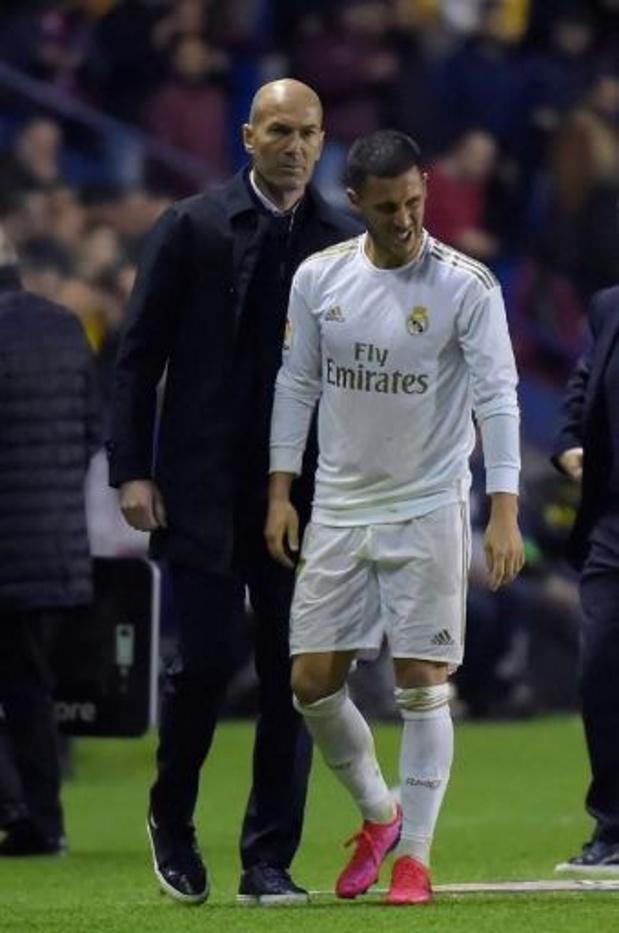 Diables Rouges - Roberto Martinez se dit inquiet de la nouvelle blessure d'Eden Hazard