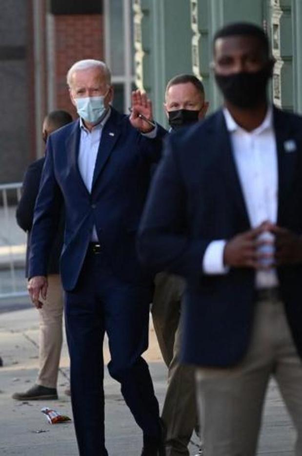 Présidentielle 2020 aux Etats-Unis - Le candidat démocrate Joe Biden a nouveau testé négatif au Covid-19