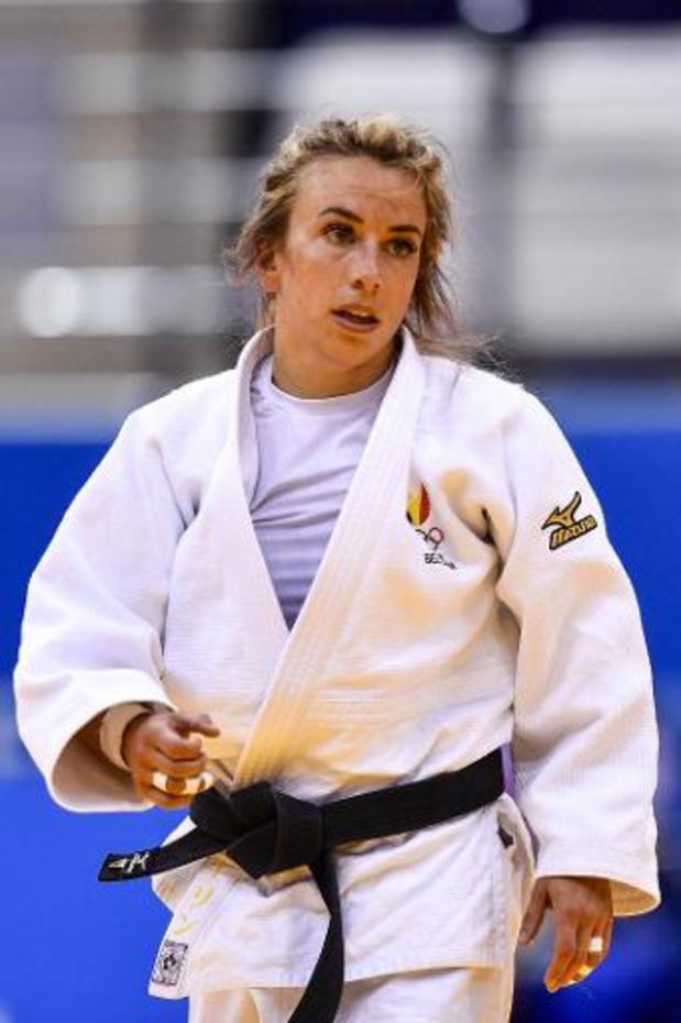 Charline Van Snick grijpt naast brons op World Masters judo
