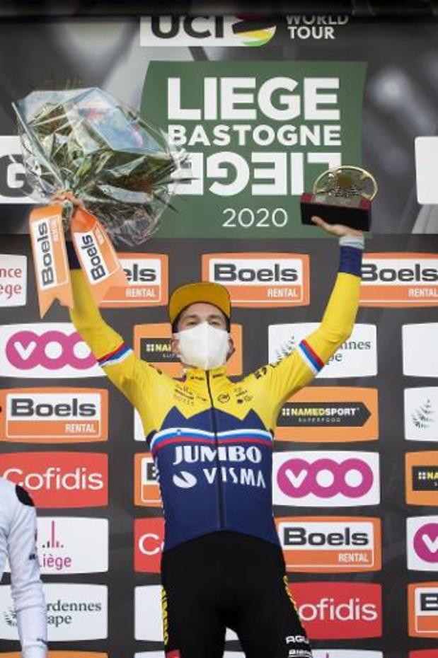 Primoz Roglic leidt World Ranking, Wout van Aert is beste eendagsrenner