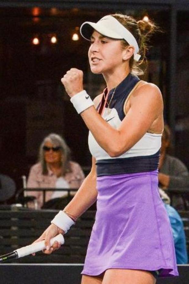 Belinda Bencic vervoegt Iga Swiatek in finale
